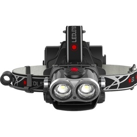 Lanterna Cap LED Lenser XEO19R Neagra 2000LM + INC+HUSA