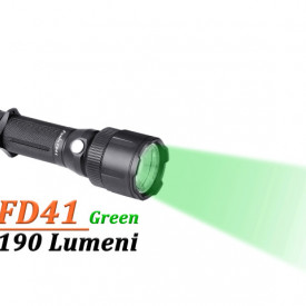Lanterna Fenix FD41 - LED Verde - 190 lumeni 183 metri 3