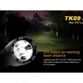 Lanterna Fenix TK09 - Editie 2016 - 900 lumeni 310 metri distanta