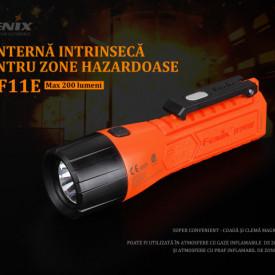 Lanterna Fenix WF11E - Lanternă ATEX - 200 Lumeni - 185 Metri 2