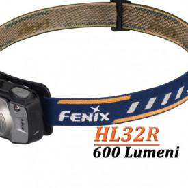 Lanterna frontala Fenix HL32R Reincarcabila 600 lumeni 73 metri