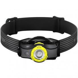 Lanterna frontala Led Lenser MH5 BLACK/Yellow 400LM/Acumulator - A8.Z502144