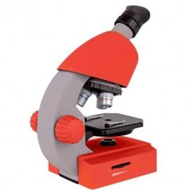 Microscop optic Bresser Junior 40x-640x rosu - 8851300E8G000