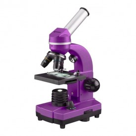 Microscop optic Bresser Junior Student Biolux SEL,violet - 8855600TJ5000