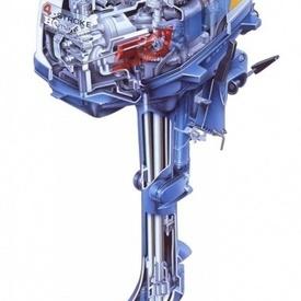 Motor Honda BF 5cp cizma lunga