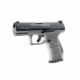Pistol cu bile de cauciuc Umarex Walther T4E PPQ M2, cal. .43 – Tungsten Gray, 7.5 jouli - SPSH.2.4759