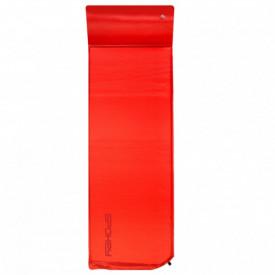 Saltea autogonflabila cu perna Spokey Savory Pillow rosu 186 x 50 x 2.5 cm - 927852