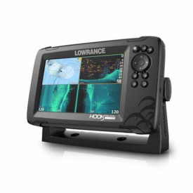 Sonar Lowrance Hook Reveal 7 Triple Shot, High CHIRP, SideScan, DownScan Imaging, GPS 3
