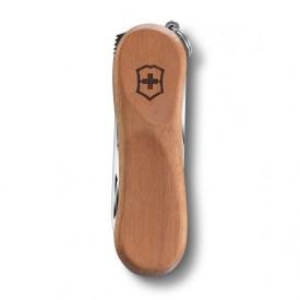 Briceag Victorinox Nail Clip Wood 580, lemn nuc - 0.6461.63