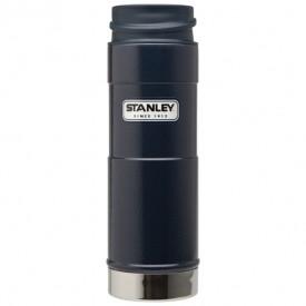 Cana Stanley Classic Vacuum, Hammertone Albastru 0.47L