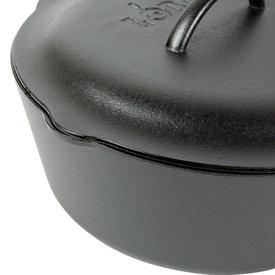 Ceaun din fonta cu capac - cuptor olandez Lodge 30 cm 6,7 litri - L-10DO3