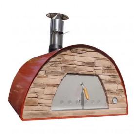 Cuptor traditional pentru pizza pe lemne Maximus Arena rosu - MAXIMUSREDARENA