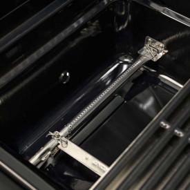 Gratar pe gaz din inox Char-Broil Professional 4500 Black Edition TRU-Infrared - 140909 arzator