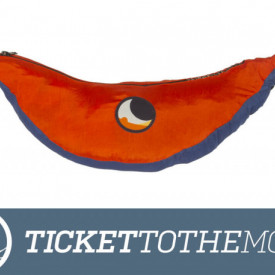Hamac Ticket to the Moon King Size Royal Blue – Orange - TMK3935