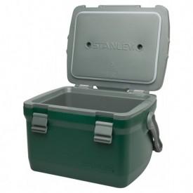 Lada frigorifica verde Stanley Adventure 6.6l - 10-01622-038 capac deschis
