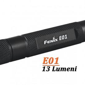 Lanterna Fenix E01 13 lumeni