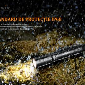 Fenix E20 V2.0 350 Lumeni 126 Metri IPX