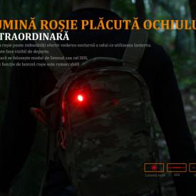 Lanterna Fenix LD15R - Lanterna Reîncarcabila - 500 Lumeni - 85 Metri semnalizare