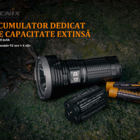 Lanterna Fenix LR40R - Profesionala - 12000 Lumeni - 773 Metri
