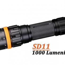 Lanterna Fenix SD11 - Scufundari - 1000 lumeni 45 metri