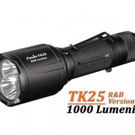 Lanterna Fenix TK25 - Versiune Red&Blue - 1000 lumeni 225 metri