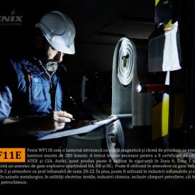 Lanterna Fenix WF11E - Lanternă ATEX - 200 Lumeni - 185 Metri 3