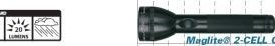 Lanterna Maglite 2 baterii-neagra