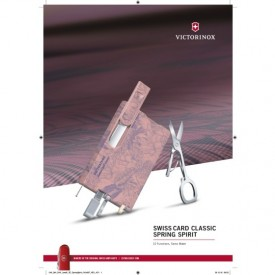 Multifunctional Victorinox SwissCard Classic Spring - 0.7155 - Limited Edition poster