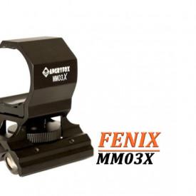 Prindere Magnetica pentru lanterna pe arma AngryFox (23-33mm) MM03X