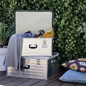 Set 2 cutii de aluminiu pentru depozitare 80 litri si 47 litri Enders Toronto 3902 8