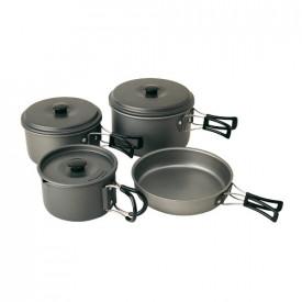 Set 4 vase pentru gatit din aluminiu Campingaz - 202030