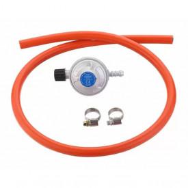 Set regulator de presiune gaz si furtun cu filet 1 pe 4 Cadac 30mBar - 8515