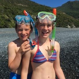 """Set Snorkeling 2 componente """"Barbados"""" Junior Schildkröt - 940011"""