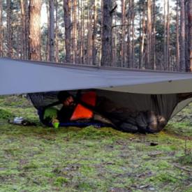 Tenda Ultralight 2×3 Prelata Bushmen Dark Olive - 5902194521246
