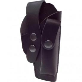Toc din piele cu sector pentru pistol Carpati, ME9, Walther PP - VE.14.18.2