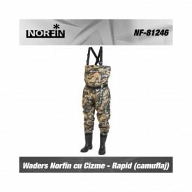 Waders Norfin cu Cizme - Rapid Camo