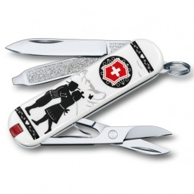 Briceag Victorinox Classic Alps Love - 0.6223.L1801 - Limited Edition 2018