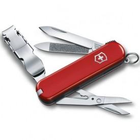 Briceag Victorinox Nail Clip 580, rosu - 0.6463