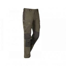 Pantaloni Hybrid Blaser Quirin Moss Melange
