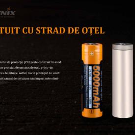 Acumulator 21700 - 5000mAh - Acumulator USB Type-C - ARB-L 21-5000U 6
