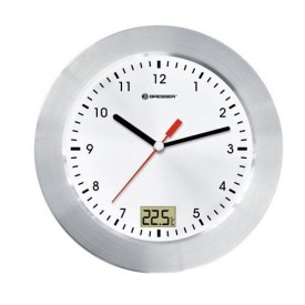 Ceas de perete cu termometru Bresser MyTime RC - 8020112