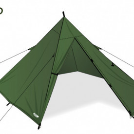 Cort 2 pers DD Hammocks SuperLight Pyramid Tent XL - 0707273932099