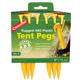 Cuie pentru cort 15cm din plastic ABS Coghlans - C9306