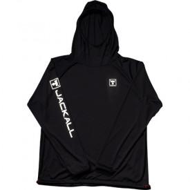 Hanorac Jackall Dry Light Hoodie Black Protectie UV