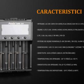 Incarcator Inteligent Fenix ARE-A4 6