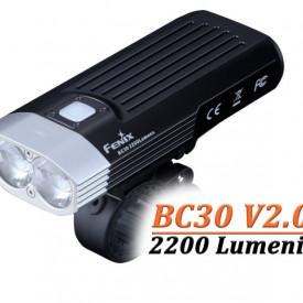 Lanterna bicicleta de ghidon Fenix BC30 V2.0 2200 Lumeni 187 Metri