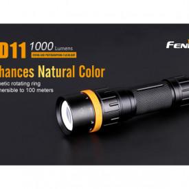 Lanterna Fenix SD11 - Scufundari - 1000 lumeni 45 metri 2