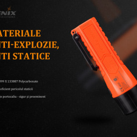 Lanterna Fenix WF11E - Lanternă ATEX - 200 Lumeni - 185 Metri 4
