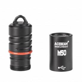 Lanterna reincarcabila tip breloc Acebeam M50, 200 lumeni, 43 m