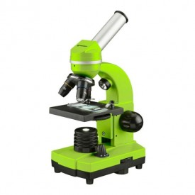 Microscop optic Bresser Junior Student Biolux SEL, verde - 8855600B4K000